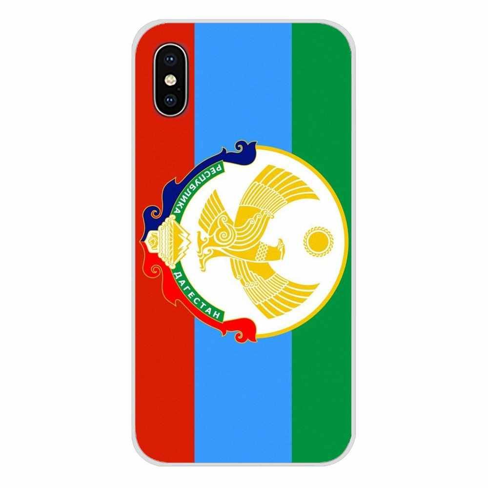 Дастан Национальный флаг герб Орел для Apple IPhone X XR XS MAX 4 4s 5 5S 5C SE 6 6S 7 8 Plus ipod touch 5 6 дизайнерский чехол