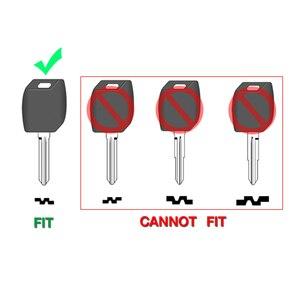 Image 3 - Bilchave Geändert 2 Tasten Flip Remote Auto schlüssel Shell Fall Für Hyundai Elantra Santa FE Atos Traje Für KIA FOB rechts Klinge