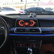 Radio Estéreo con GPS para coche, reproductor Multimedia con Android 10, 8 GB de RAM + 128, navegador, grabadora, para BMW serie 5, F07, CIC, NBT