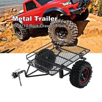 Metal RC Trailer Hopper Frame Simulation For 1/10 Rock Crawler Truck Trail Traxxas TRX-4 TRX4 Axial SCX10 RC4WD D90 CC01