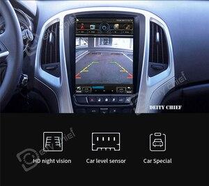 Image 4 - 1.Car radio 2din GPS Per Opel Astra J Buick EXCELLE Verano 2009 2014 Verticale dello schermo di lettore Multimediale