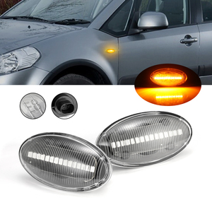 Image 1 - 2X LED Dynamic Side Marker Light Indicator For Suzuki Swift Alto SX4 Jimmy Vitara Turn Signal Light Blinker 2Pcs Car Lights 2021