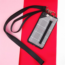 цена на Tpu Leather Phone Case With Card Holder For iPhone 6 Xs Max  Luxury Card Wallet Etui For iPhone 7 8 Plus Apple Cover Phone Cases