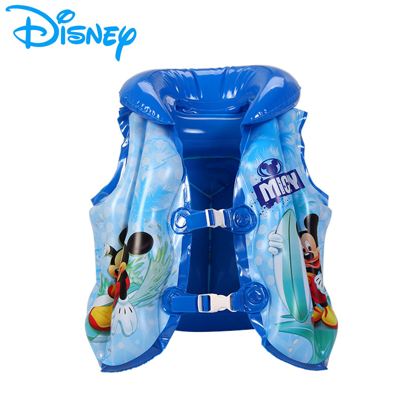 Disney Summer Swimming Ring For Kids Baby Toy For Children Swimming Ring Baby Inflatable Ring Floating