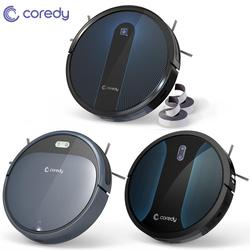Coredy 1400pa R300 R500 + جهاز آلي لتنظيف الأتربة 1600pa R650 سمارت كلين روبوت سجاد للأرضيات شعر الحيوانات الأليفة أتوماتيكي منظف كنس الغبار