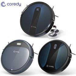 Coredy 1400pa R300 R500 + Roboter-staubsauger 1600pa R650 Smart Sauber Roboter Boden Teppiche Pet Haar Automatische staub Sweep reiniger