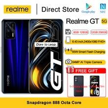 Nieuwste Realme Gt 5G Nfc Mobiele Telefoons 6.43