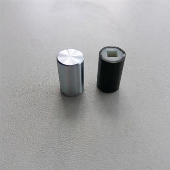 8 sztuk pokrętło mocy 9 5*16*3 2mm kapturek przełącznika wzmacniacz słuchawkowy pokrętło przyciski panelu podwozia tanie i dobre opinie Aluminum