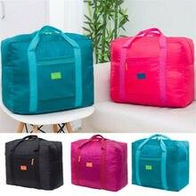 Для женщин складная дорожная сумка унисекс спортивные сумочки Сумка для полета для Водонепроницаемый сумки для Для женщин большой Ёмкость дорожные сумки модная сумка для мужчин