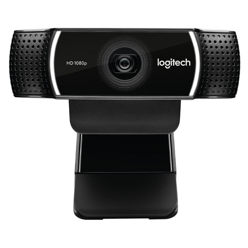 Logitech C922 PRO Webcam 1080P flux vidéo Full HD ancre caméra fond commutateur Autofocus Microphone intégré avec trépied - 3