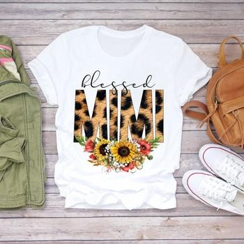 Women Cartoon Super Mom Life Momlife Summer Print Lady T-shirts Top T Shirt Ladies Womens Graphic Female Tee T-Shirt 28