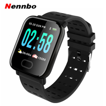 Nennbo A6 Smart Watch Heart Rate Monitor Sport Fitness Track