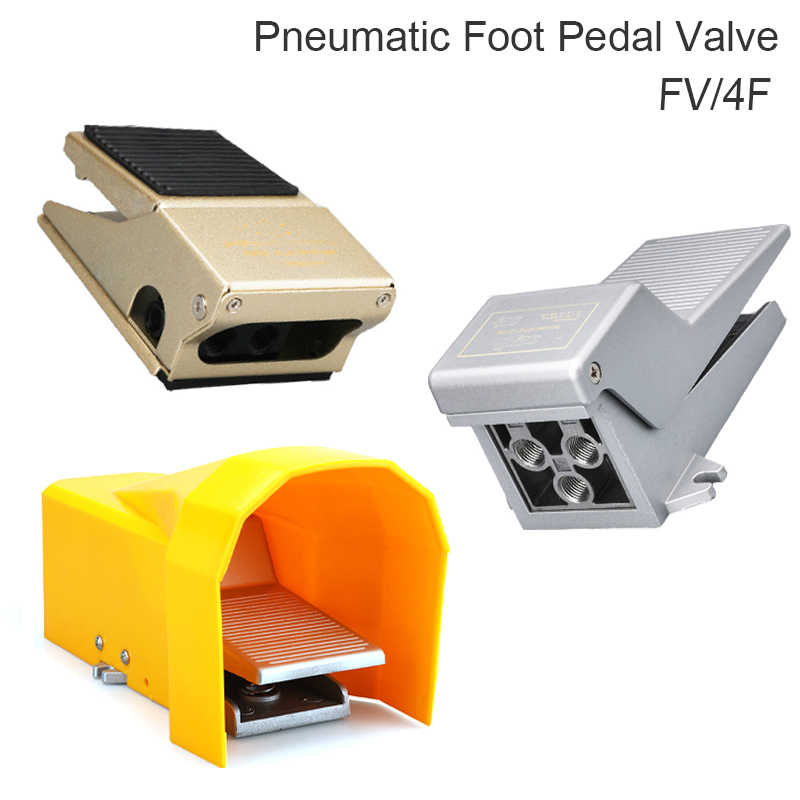 """4F210-08G Pneumatic Foot Pedal Operated Control Valve 5 Way 2 Position G1//4/"""""""