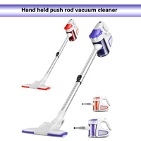 Household Hand-held Push Rod Vehicle Hand-held Small Powerful Acarid Remover Vehicle Cleaner Vacuum Tube Portable