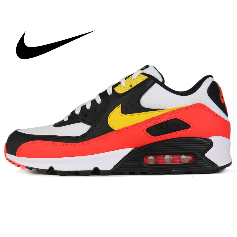 Original NIKE AIR MAX 90 ESSENTIAL Men's Running Shoes Wear