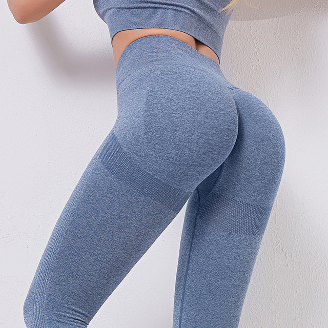 SVOKOR Fitness Leggings Women Push Up Gym Womens Clothing High Waist Short Leggings Sexy Workout Pants Female Ankle Knee Length 1