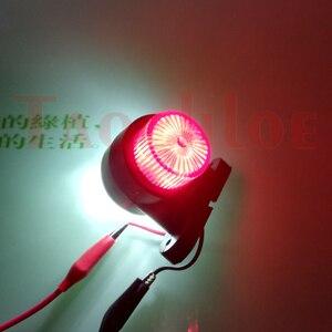 Image 4 - 2Pcs Marker Lichter Für Auto Anhänger Position Licht Lkw Traktor Hinten Freiheit Lampe LED Rot Weiß 12V 24V Parkplatz Seite Lichter