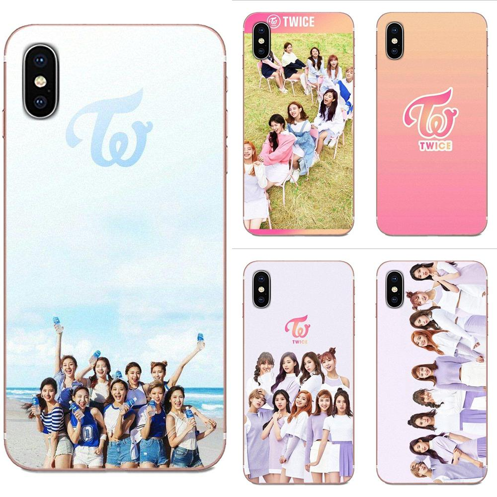 Twice <font><b>Kpop</b></font> TPU Phone Cover Case <font><b>Coque</b></font> For Galaxy J1 J2 J3 J330 J4 J5 <font><b>J6</b></font> J7 J730 J8 2015 2016 2017 2018 mini Pro image