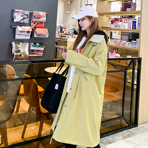 Image 3 - Scene shooting down jacket winter in the new long cotton padded jacket cotton female students long over the knee lambs wool coat