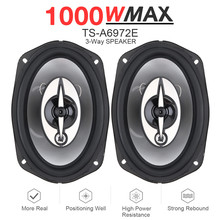 Car-Coaxial-Speaker Full-Range Audio Frequency-Car Stereo 6x9inch Auto 1000W Music 2pcs