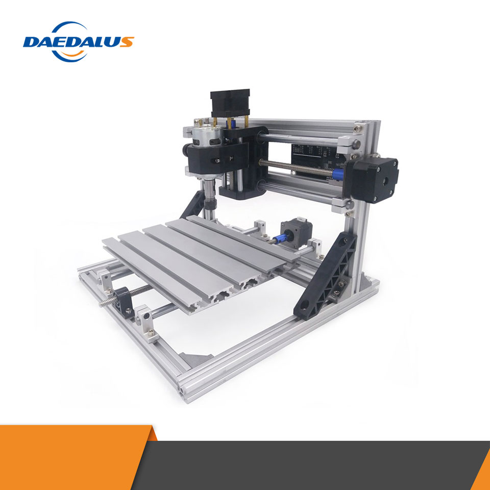 <font><b>CNC</b></font> <font><b>2418</b></font> Engraver Machine Mini <font><b>CNC</b></font> Laser Machine 3 Axis PCB Milling Engraving Carving Router With GRBL Control Spindle ER11 image