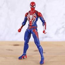 SHF figurine Spiderman en PVC, figurine Spiderman, modèle daction, modèle de guerre infini, jouet de Collection, cadeaux pour garçon