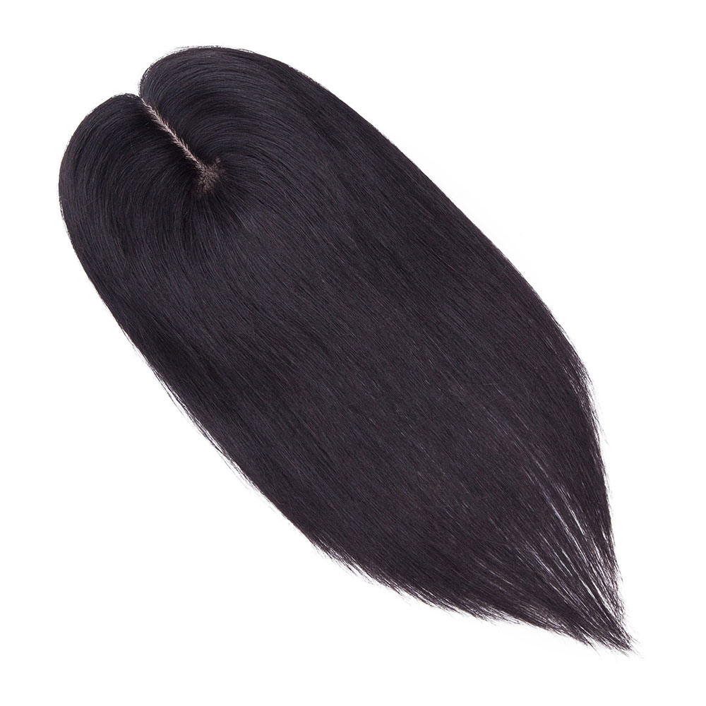 x 3cm toppers de cabelo humano para