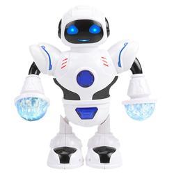 Aparência lisa espaço inteligente danncer robô excelente artesanato design delicado eletrônico criança crianças presentes puzzle brinquedo