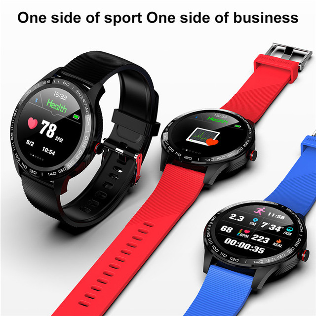 L9 Smart Watches ECG PPG Fitness Traker Information Push Phone Call Reminder Heart Rate Monitor Smartwatch For women men for IOS 6