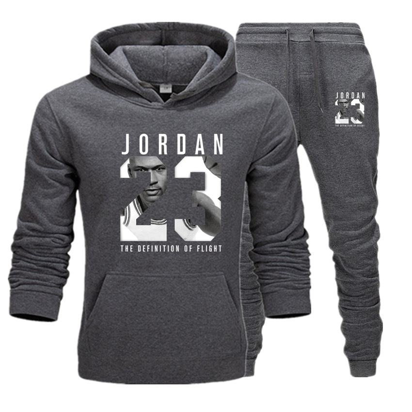 Fall Comfortable Sportswear Sweatshirt Men's Hoodie And Sweatpants Fashion Jogger Men's Spring Street Sportswea