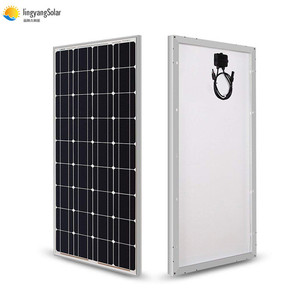 Image 1 - Solar Panel 100w 200w 300w 400w 18V Rigid Glass Panel Monocrystalline Cell 12V/24V Battery Charger Panneau Solaire RV Home Roof
