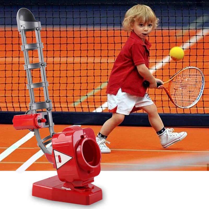 Спортивные игры детская бейсбольная пушка для мячей (Молодежная) Электронные медленно подающие игрушки, мальчики и девочки T-Ball и софтбол Prog