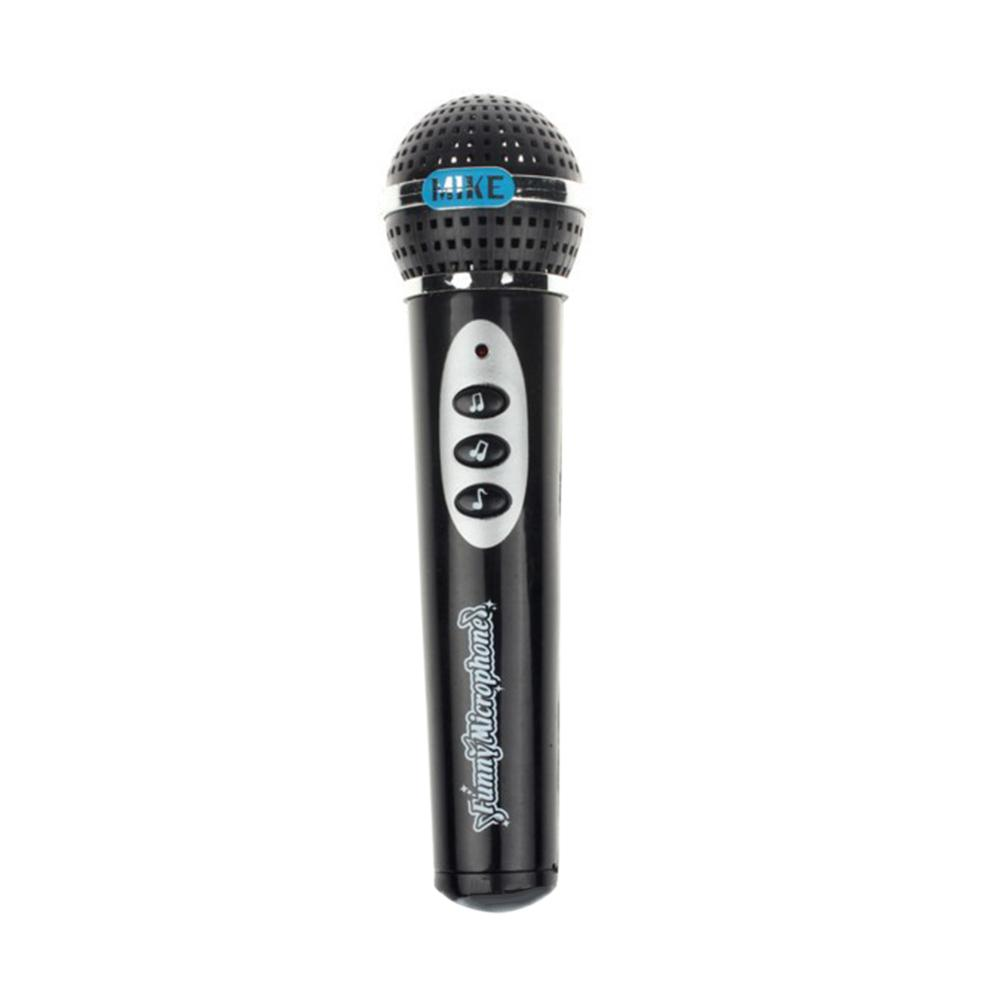 Baby Girls Boys Microphone Mic Karaoke Singing Kid Funny Gift Music Toy Children Simulation Microphone Black