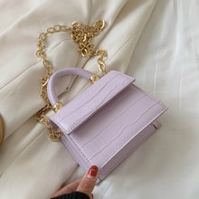Stone Pattern Mini PU Leather Crossbody Bag for Women New Luxury Female Shoulder Messenger Handbag Chain Ladies' Travel Flap Bag(China)