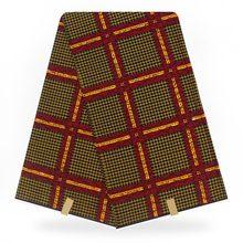 Африканский настоящий гарантированная настоящий голландский воск высокое качество pagne голландского 6yards африканский Анкара швейные ткани для одежды