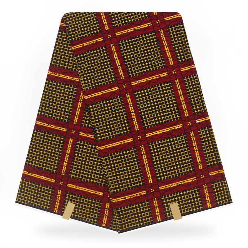 African Veritable Wax Real Ankara Wax High Quality Pagne Ducth Veritable 6yards African Ankara Sewing Fabric For Clothes