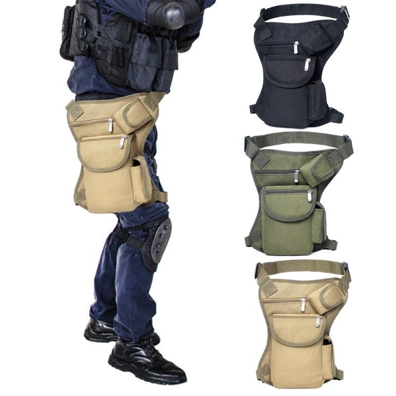 Molle Leg Bag Portable Waist Bag Messenger Pack Pouch For Outdoor Hiking