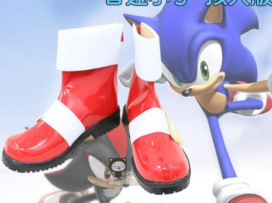 Sonic The Hedgehog Personify Cosplay Shoes Boots Custom Made