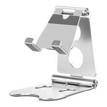 Mesa portátil suporte do telefone celular suporte do telefone móvel portátil suporte para tablet liga de alumínio do escritório em casa suporte