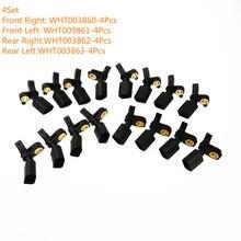 SCJYRXS – 4 capteurs de vitesse ABS, pour VW Golf Passat Fit Audi A3 TT WHT003860 WHT003861 WHT003862 WHT003863