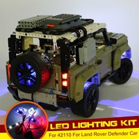 DIY LED Light Lighting Kit ONLY For LEGO 42110 For Land Rover For Defender Car Bricks Toy (Not Include The Model)