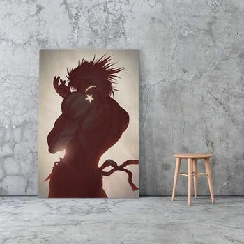 Canvas Print Picture Dio Brando Wall Art Jojo S Bizarre Paintings Home Decor Japan Anime Modular Poster For Living Room Frame