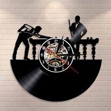 Мраморные настенные часы для биллиардного плеера уникальные