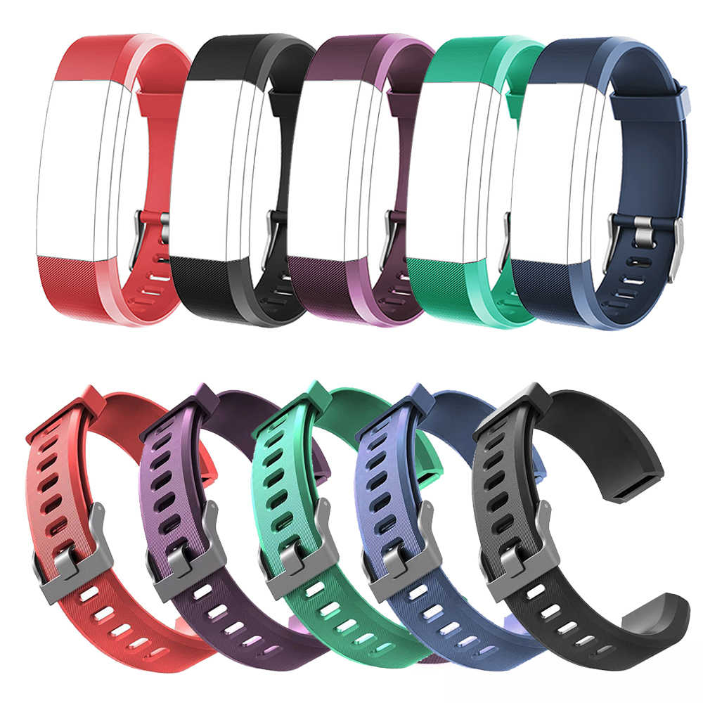 Original Wrist Band Strap For ID115 Plus Pedometer Replacement Silicone Smart Watch Watchband For Smart Bracelet Accessories