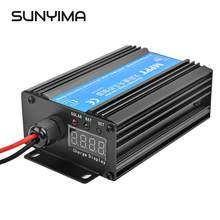 SUNYIMA 24V 48V 72V 300W MPPT Boost Solar Laadregelaar Boost Set-up Charger Auto batterij Opladen Voltage Regulator(China)