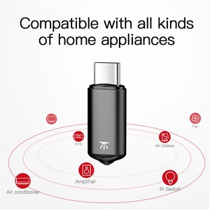 Image 2 - Baseus RO2 Type C Jack Universal IR remote control for Samsung Xiaomi Smart infrared remote control for TV aircondition STB DVD
