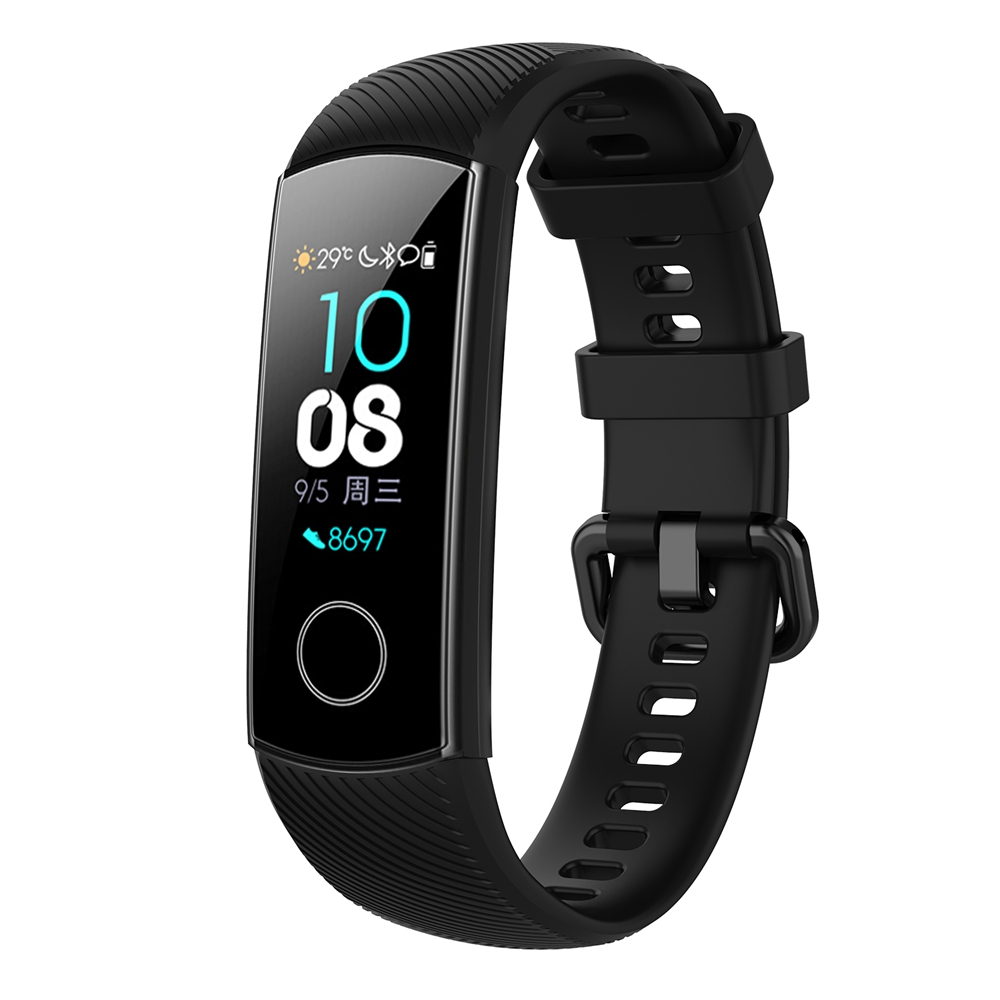Silicone Strap For Huawei Honor Band 5 Smart Wristband Smart Watch Band Replaceable Accessories For Huawei Honor Band 4 5 Straps