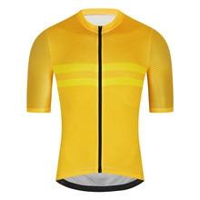 Fualrny pro camisa de ciclismo men aero bicicleta camisa leve mtb processo sem costura ciclismo roupas camisa maillot ciclismo