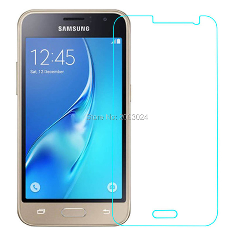2PCS 2.5D Tempered Glass For Samsung Galaxy J1 J120F 2016 SM-J120F Protective Film Mobile Phone For Samsung J 120F 2016 J120