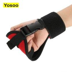 Gants fixes auxiliaires équipement d'entraînement de réadaptation gants de doigt de poing de main pour la réadaptation de Patient d'hémiplgia de course